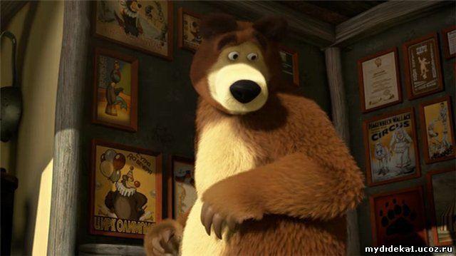 Маша и медведь 13 серия